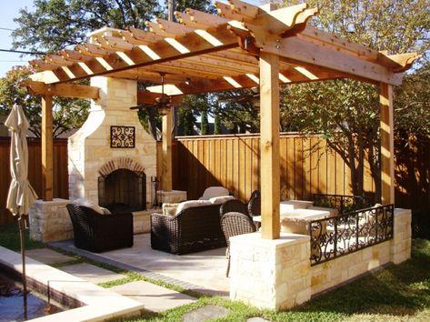 Entspann Dich Den Garten Gestalten Kamin Gemütlich | Exterieur