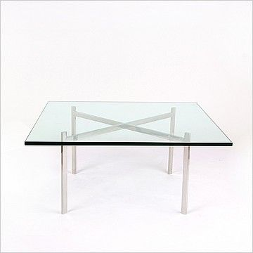 Mies Van Der Rohe Style Exhibition Coffee Table Table Table