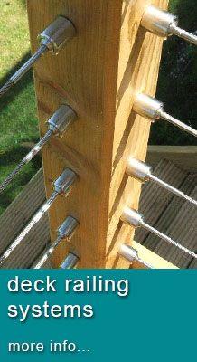 Stainless Steel Cable Trellis Kits   deck-railing.com …   Pinteres…