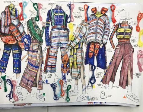 Fashion Design Portfolio Line Up - Fashion