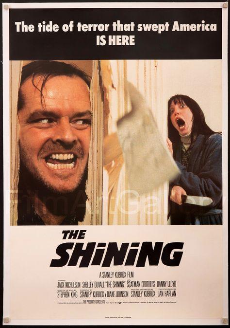 The Shining 1 Sheet (27x41) Original Vintage Movie Poster