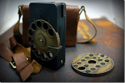 Rotary Mechanical Smartphone – Digital Future