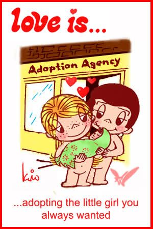 I have been reading blogs writen by adoptive parents who have adopted girls from China. so many touching stories pull my heartstrings...