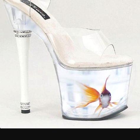 live goldfish platform shoes - Google Search | Shoes | Pinterest | Fashion