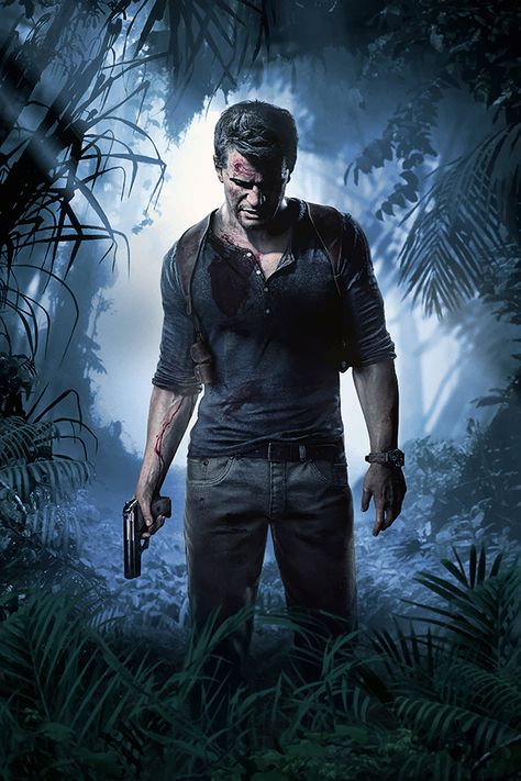 Uncharted 4: A Thief's End Nathan Drake Poster