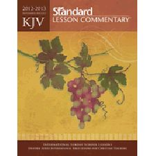 The KJV SLC paperback edition is perfect as the primary resource for an adult Sunday school class and personal study or as a supplemental resource for any curriculum that follows the ISSL/Uniform Series.