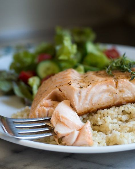 Recipe: Broiled Salmon with Spiced Butter