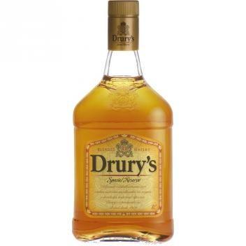 Whisky Nacional Garrafa 1 Litro Drurys Whisky Garrafas