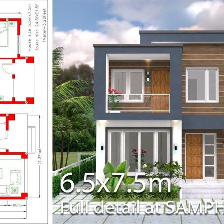 One Story House With 3 Bedroom Plot 36x50 Samphoas Plan Home Design Plan House Design Home Design Plans