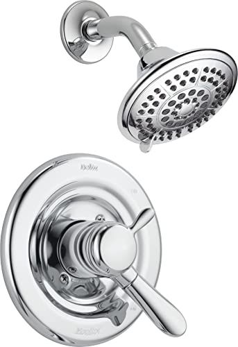 The Delta Faucet Lahara 17 Series Dual Function Shower Trim Kit 5 Spray Touch Clean Shower Head Chrome T17238 Valve Not Included Online Shopping In 2020 Delta Faucets Shower Cleaner Wine Aerator Pourer