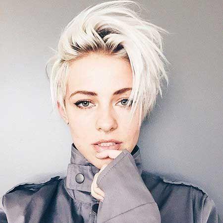 Unique Bleach Blonde Short Hair Ideas Hairstyles Short