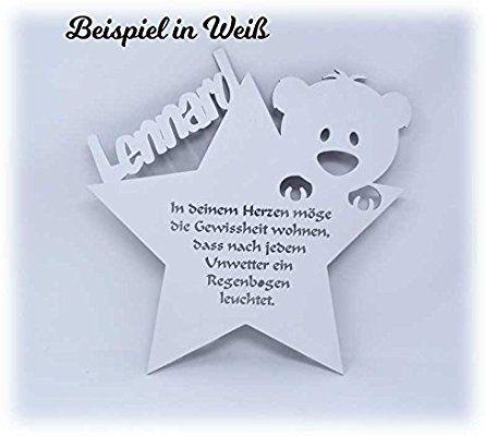 Schlummerlicht24 Led Nachtlicht Baby Lampe Teddy Stern Baby Geschenke Zur Taufe Mit Namen Tauf Spruch Gravur Personal Baby Geschenke Zur Taufe Zur Geburt Junge