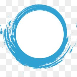 Free Download Creativity Blue Watercolor Dashed Circle Creative Ai Png 1252 1190 And 101 09 Kb Desain Pamflet Bingkai Foto Bingkai