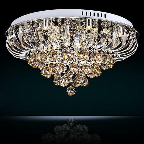 OOFAY LIGHT G4 8 Lights Modern Crystal Chandelier,art Crystal Chandelier for the Living Room, and Bedroom Crystal Chandelier