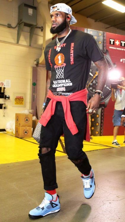 LeBron James is the NBA's 2018 Best Dressed Player Nice Kicks is part of Nba fashion -