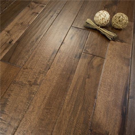 Old West Hand Scraped Hickory Character Prefinished Solid Wood