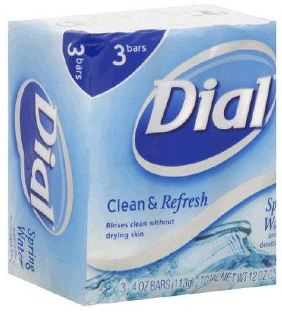 Dial Soap Spring Water Dial Spring Water Bar Soap 3 4oz Dial Bar Soap Dial Soap Antibacterial