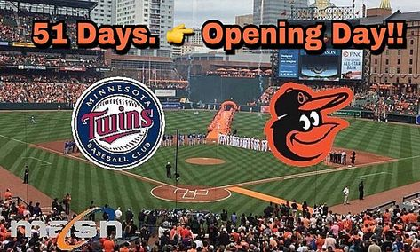 51 Days Until Opening Day Masnorioles Orioles Theorioleszone Orioles Openingday Opacy Baltimore Orioles Opening Day Baseball Field