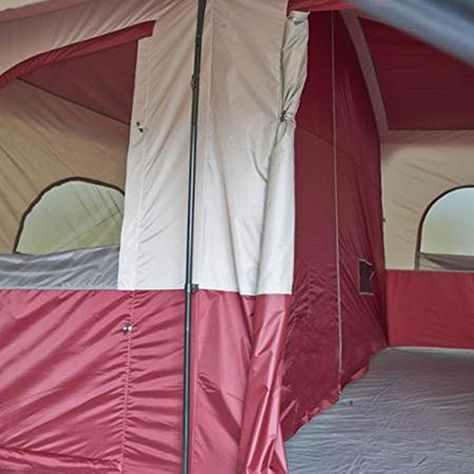 12 Person Cabin Tent With Screen Porch Camp Outdoor Family Hiking Travel Shelter Ozark Trail Cabin Tent Tent Camping Toilet