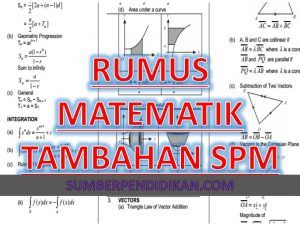 Formula Rumus Matematik Tambahan Tingkatan 4 Dan 5 Formula Sum To Infinity Subtraction