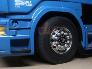 1:14 1//14 rc truck trailer front wheel for tamiya scania R470 R620