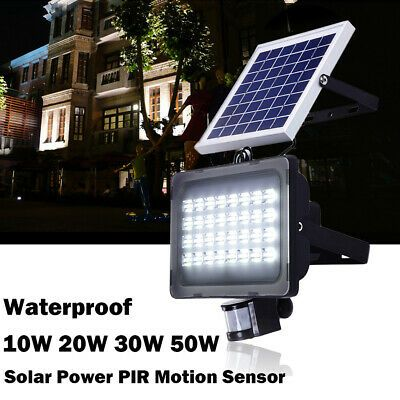 Details About Waterproof Led Solar Power Pir Motion Sensor Flood Light Outdoor Yardgarden Lamp Solar Spot Lights Outdoor Solar Spot Lights Outdoor Lighting