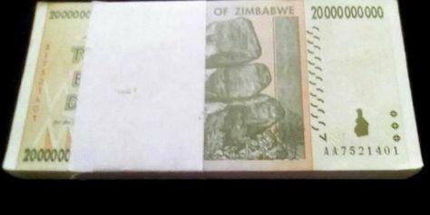 Lot 5 PCS Circulated XF MONEY CURRENCY P-85 2008 Zimbabwe 10 billion Dollars