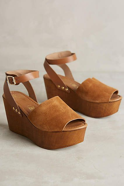 e6882515fa7 Seychelles Forward Platform Wedges for the '70s vibes you've always ...
