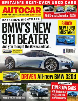 Autocar Uk 8 May 2019 Quick Book Store New Ford Mustang