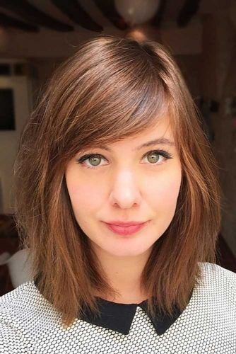 30 Amazing Ways To Style A Bob With Bangs Lovehairstyles Hair Lengths Above Shoulder Length Hair Midlength Haircuts