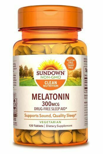 Sundown Non Gmo Clean Nutrition Melatonin Drug Free Sleep Aid Vegetarian Flavors Sundownnaturals Zdorove