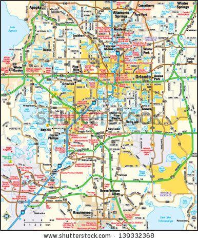 orlando area map florida Orlando Florida Area Map Area Map Orlando Florida Florida orlando area map florida