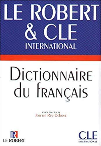 Telecharger Dictionnaire Du Francais Le Robert Cle International Livre Gratuit Pdf Epub French Lessons Books To Read French Dictionary
