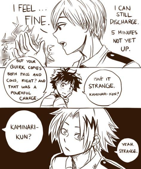 What If Monoma Copies Kaminari S Quirk My Hero My Hero Academia Manga My Hero Academia Memes