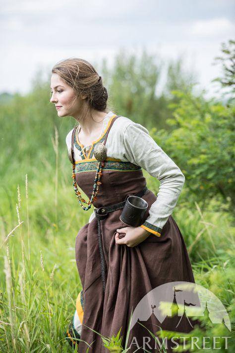 Ancient Viking Dress and Apron