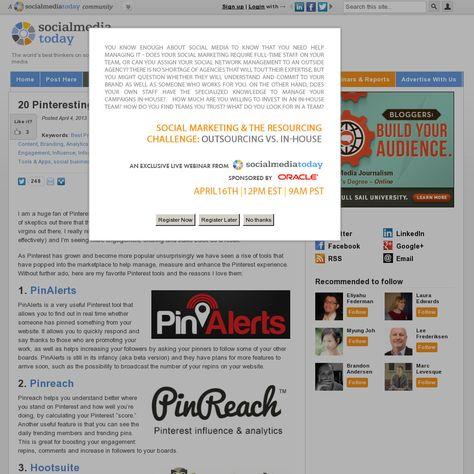 20 Pinteresting Business Tools