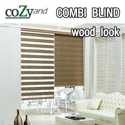 Wood Roman Blinds