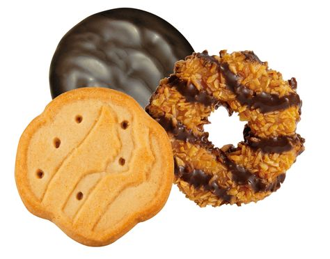 Clip art for making signs to sell GScookies.