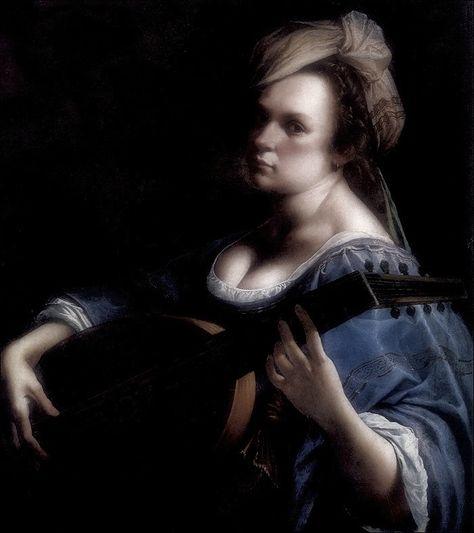 Artemisia Gentileschi Autoritratto Come Suonatrice Di