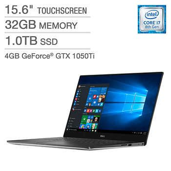 Dell Xps 15 Touchscreen Laptop Intel Core I7 4k Ultra Hd