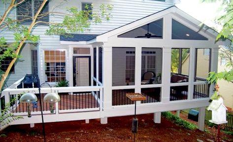 Screened In Porch Furniture, Screened Porch Decorating, Screened Porch Designs, Screened In Patio, Patio Roof, Backyard Patio, Diy Patio, Porch To Sunroom, Small Patio