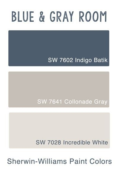 What Color Does Blue And Gray Make : color, Project:, Guest, Bedroom, Polka, Chair, Colors,, Rooms,, Inspiration