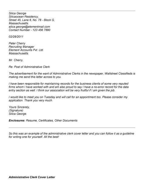 sample resume cover letter administrative clerk for big assistant - grocery clerk resume