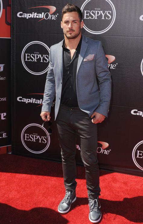 New England Patriots wide receiver Danny Amendola on the ESPYs red carpet.