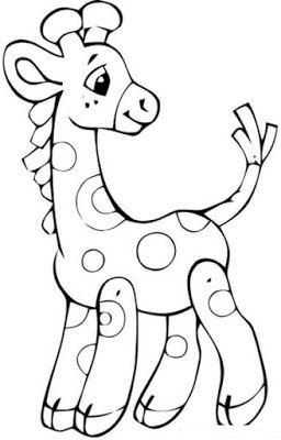 Mi Colección De Dibujos Jirafas Infantiles Para Pintar Animales Dibujos Para Colorear Dibujos Jirafas Para Colorear