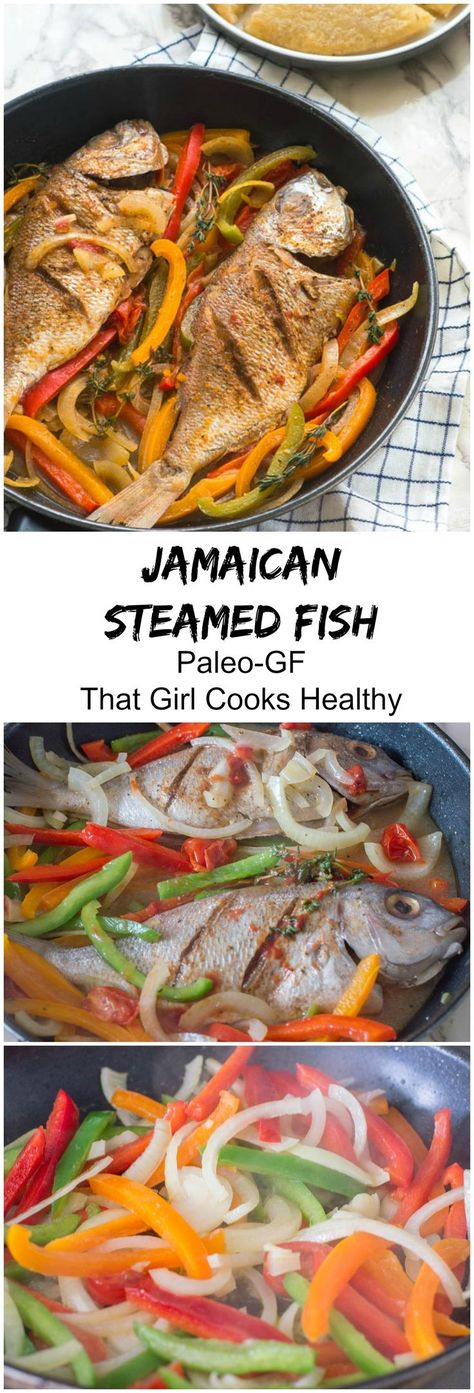 jamaican steamed fish #seafoodrecipes #jamaicanfood