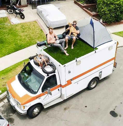 Heartbroken man who converted ambulance into a camper van after splitting with fiancee is now an Instagram star