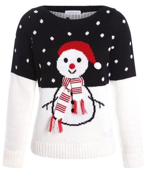 meilleur prix acheter meilleure valeur Pull de Noël : on craque toutes pour le pull de Noël ...