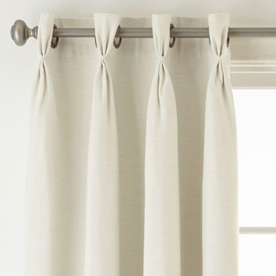 Coronado 100 Blackout Pinch Pleat Grommet Top Curtain Panel