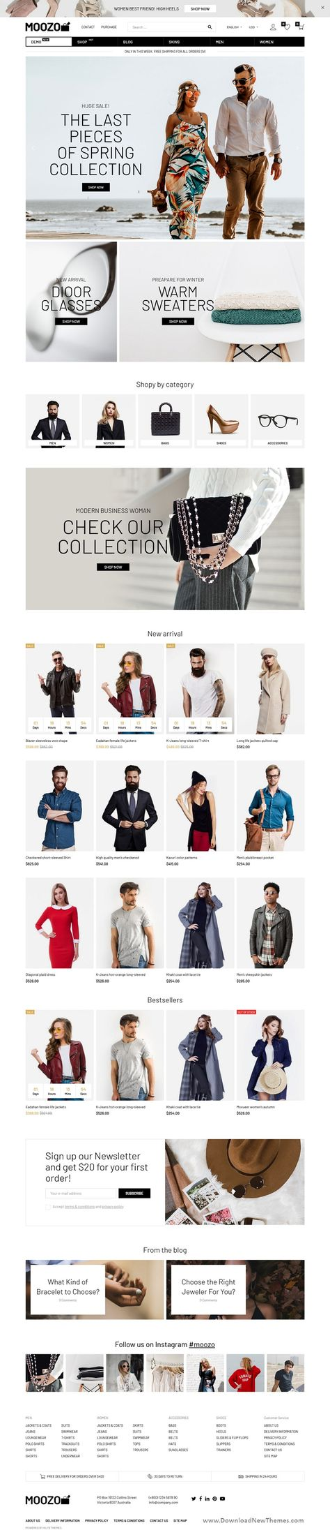 Moozo Tools, Furniture, Fashion, Jewelry, Market WooCommerce Theme